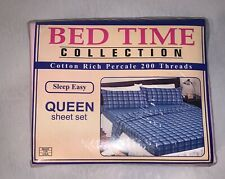 Bed Time Collection Queen Sheets Set Pink