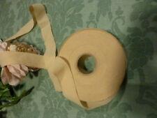 3m  mercerie ancienne beige  chapeaux ,garnitures diverses consolider  ourlet