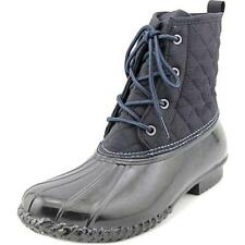 Flat (0 to 1/2 in.) Medium (B, M) Synthetic Boots for Women