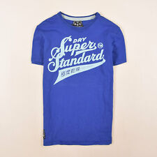 Superdry Herren T-Shirt Shirt Classic Gr.M Hardware Store Vintage Blau 86195