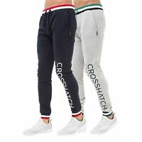 Mens Jogger Pants Crosshatch Webster Tracksuit Jogging Trousers