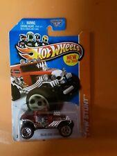 Hw Hot Wheels 2013 Hw Stunt #90/250 Baja Bone Shaker Hotwheels Black Vhtf Rare