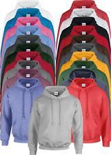 GD057 Gildan Mens Womens Heavy Blend™ Long Sleeve Hooded Sweatshirt Hoodie