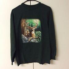 """Steve Gardner """"Find Seven Deer"""" Graphic Artwork T-Shirt Size M"""