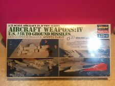 HASEGAWA MAQUETTE AIRCRAFT WEAPONS IV US AIR GROUND MISSILES 1/72 NEUF BLISTER
