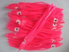 Pink Octopus Squid Skirts 5 x 19cm Quality Trolling Fishing Lures Rigs Jigs
