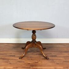 Round Ercol Chester Dining Table, Kitchen, Breakfast, Solid Elm Golden Dawn