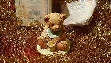 Cherished Teddies BENJI (w/Bee on Nose) - Another first of CTs issued/Valentine