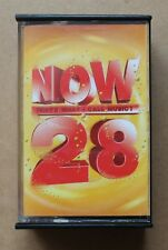 NOW THATS WHAT I CALL MUSIC 28 EMI/VIRGIN TCNOW28 DOUBLE CASSETTE PLAY TESTED