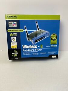 Linksys ERPRO-8 54 Mbps 6-Port 10/100 Wireless G Router (WRT54GS v7)