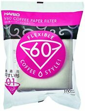 Hario Piece Box of Paper Filter For Dripper White Single Cup High Quality New