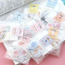 70 pcs Mini Paper Sticker Tag DIY Diary Decoration Sticker Album Scrapbooking E7