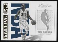 2013-14 PRESTIGE NBA MATERIALS #9 BEN GORDON