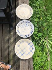 Early DELFTS BLAUW HOLLAND DELFTWARE Saucers 5.25""