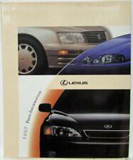 1997 Lexus Press Kit - LS400 SC300 GS300 LX450 ES300