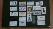 Vintage Lot Of 20 Magician'S Business Cards-Gazzo,Bruce Cervon,Tc Tahoe