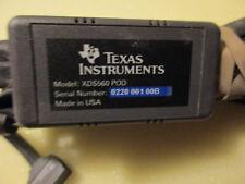 ORIGINAL TEXAS INSTRUMENTS MODEL XDS560    POD CABLE !