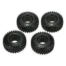 """4 X 2.2"""" 125mm 1/10 Scale Tires for RC4WD Axial SCX10 RC Rock Crawler CS"""