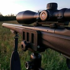 Rifle saddle mount Rifle clamp Tripod mount adapter Precise tripod shooting rest