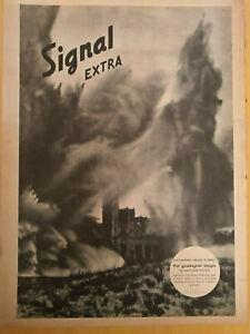 """signal inserto signal extra rivista """" I 5 """" del N° 18 del 1944 in Italiano"""