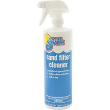 Liquid Fast Acting Cleaner For Swimming Pool Sand Filter 1 Quart Bottle