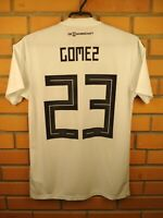 Mario Gomez Germany Jersey 2018 2019 Home S Shirt BR7843 Football Adidas Trikot