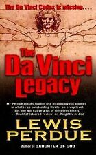 THE DA VINCI LEGACY by Lewis Perdue (2004, Paperback, Reissue)