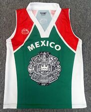 Basket ball Arza Mexico Jersey and Short For Kids 100% Polyester