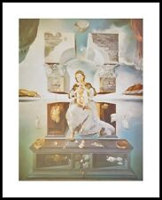 Salvador Dali la madonna de port lligat, 1950 póster son impresiones artísticas en el marco 50x40cm
