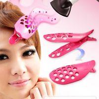 1pc Hair Fringe Clip Front Bangs Curler Roller Holder DIY Hair Styling Tool PT