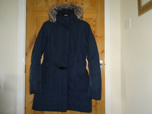 THE NORTH FACE WOMENS NAVY BROOKLYN PARKA 2 SIZE S 550 DOWN DRYVENT