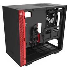 NZXT H210 Mini-ITX Case (Matte Black/Red)