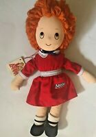ANNIE  Vintage 1982 Doll Applause Plush Stuffed Animal Childrens Girls with tags