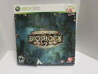 New BioShock 2 Special Edition Xbox 360 sealed game rare!
