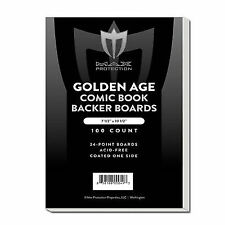 1000 Max Pro Golden Age Comic Book Backing Boards - Acid Free Archival Safe