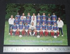 CPA FRANCE 98 COUPE DU MONDE FOOTBALL CHAMPIONNE 1998 ZIDANE
