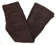 Divided Herren Bootcut Jeans Cord Flared Hose Schlaghose Denim 31/32 braun C651