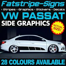 VW PASSAT GRAPHICS STICKERS STRIPES DECALS VOLKSWAGEN V DUB GTI R36 TDi CC 2.0 D