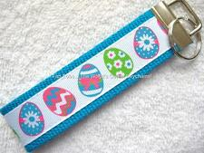 EASTER EGGS Key Fobs (really cute keychains)