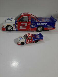 Racing Champions 1:18 & 1:64 Die Cast #2 CARQUEST Jason Leffler NASCR Truck
