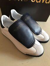 NIB $420 Roberto Cavalli Men's Sneakers Black 9 US ( 42 Eu ) Italy
