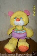 Vintage Playskool Water pets Yellow Bear Life Guard 412