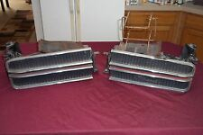 1969 Original Chrome Chrysler 300 Hideaway Headlights Great Cond MOPAR LH & RH