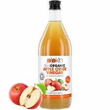 Vinaigre de Cidre de Pommes Brut 100% Bio OrganicPipkin  pasteurisé 1000ml