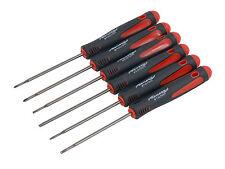 6pc Precision Screwdriver Set - Star T6 T8 Flat 2.0mm 3.0mm - Phillips 00 000