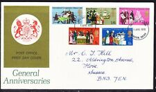 Great Britain  1970 Anniversaries First Day Cover Brighton to Hove