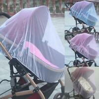 Universal Baby Stroller Mosquito Insect Net Cover Fit Pram Bassinet Car Seat