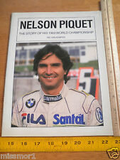 1983 Nelson Piquet The Story of his World Championship Ric Ban Kempen magazine