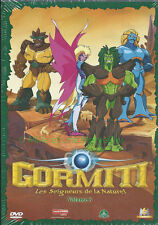 Gormiti dvd-volume 3 - the lords of nature - 5 episodes