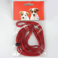 Swivel Show Dog Lead Red Extra Small - Medium Best Quality All In One Leads
